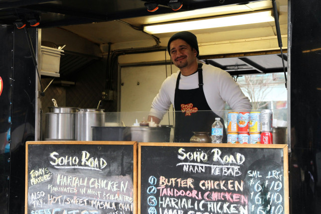 Sarb Mund Owner Soho Road Food Truck