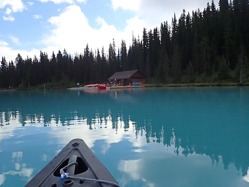 Canoe, Lake Louise Boat House